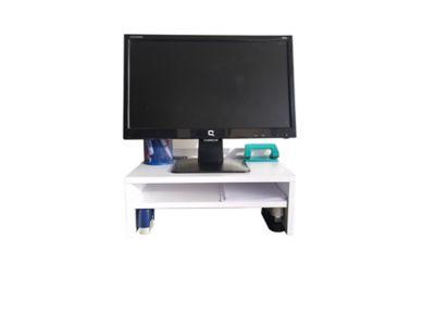 Soporte Monitor 18x25x40 Blanco