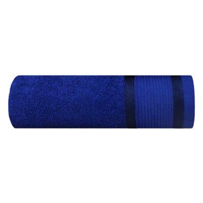 Set Toalla Michel 70x140 cm + Toalla Facial Azul