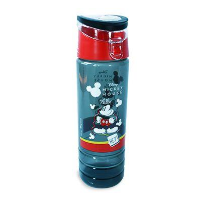 Botella Santorini 24 Oz Mickey Gris Traslucida