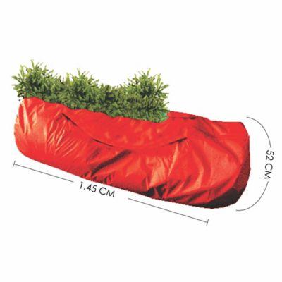 Bolsa Guarda Árbol De Navidad Rojo