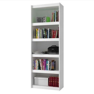 Biblioteca Albania 70.5x182x33 Blanco