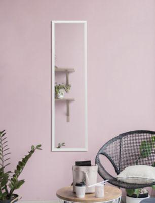 Espejo Modena 30x120 cm Blanco
