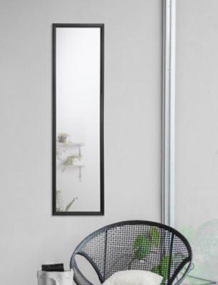 Espejo Modena 30x120 cm Negro