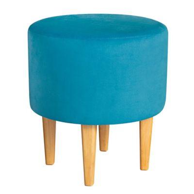 Puff Fijo Alanya Azul