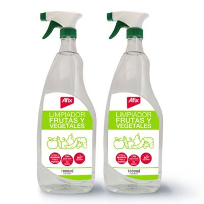 Limpiador Afix Frutas y Vegetales 1Lt c/u Paquete x 2Und