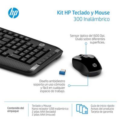 Combo Teclado + Mouse Inalámbrico
