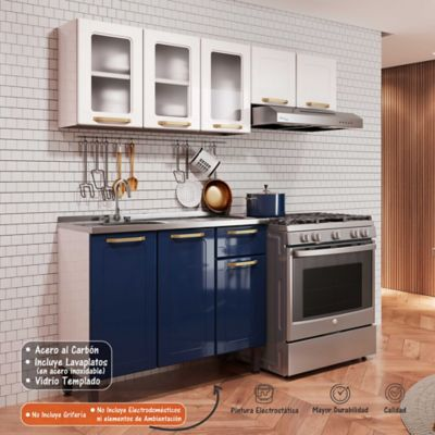 MP COCINA INTEGRAL COLORS 1.75 M BLUE NA
