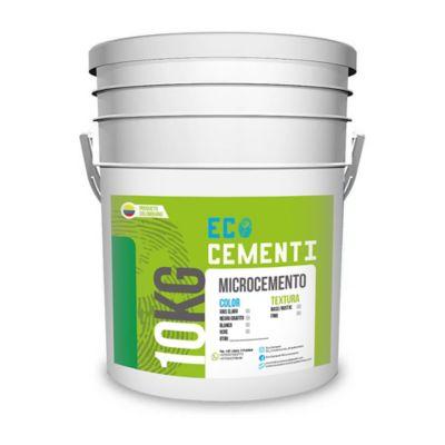 Microcemento Fino Blanco 10 Kg