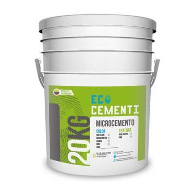 Microcemento Rustic Blanco 20 Kg