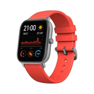 Smartwatch GTS Pantalla Amoled Rojo