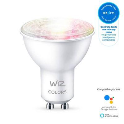 Bombillo Led Gu10 Inteligente Wi-Fi Luz Fría Y Cálida + Colores