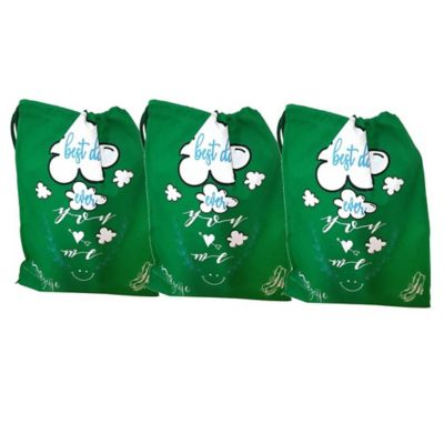 Set x 3 Bolsas Organizadoras Zapatos Dama Verde