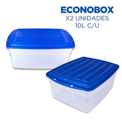 Set x 2 Cajas Econobox 10 Lt