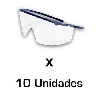 Gafas de Protección Kim Higea x 10 Und
