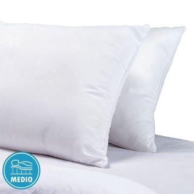 Almohadas x2 144H 50x70 Borde Blanco