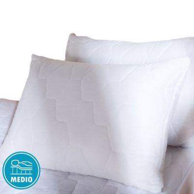 Almohada + Protector 144H 50x70 Blanco