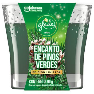 Glade Vela Encanto de Pinos Verde
