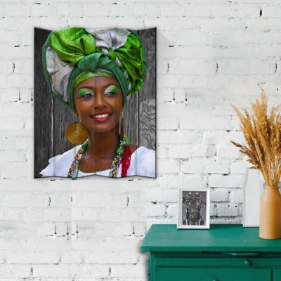 Retablo Acanalado Mujer 40x50 cm