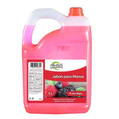 Jabon Liquido Frutos Rojos x4000ml Kleine
