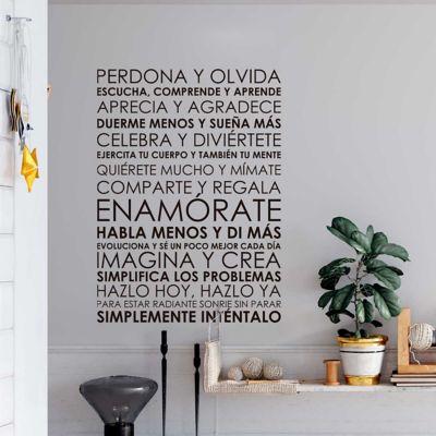 Vinilo Decorativo Frase Motivado Perdona y Olvida