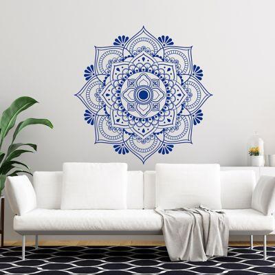 Vinilo Decorativo Lotus Mandala