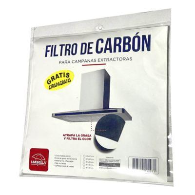 Kit Filtro de Carbón para Campanas Extractoras 0.49 X 0.23