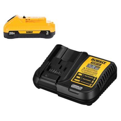 Kit Bateria 20V 3Ah con Cargador Dewalt