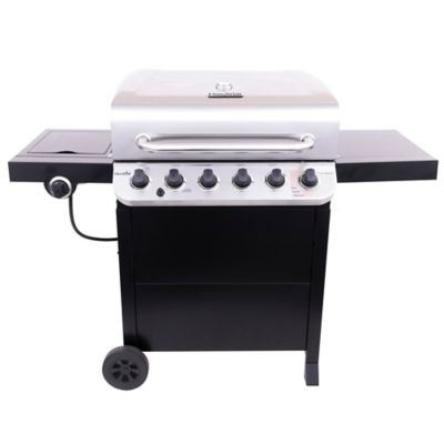 Asador a Gas de 6 Quemadores + Lateral Performance Series