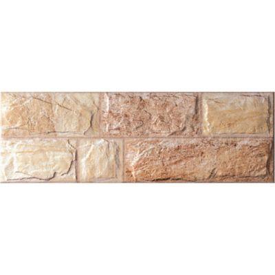 Fachada Rockcrema 20x60cm Cjx0.84m2 Carasdifere