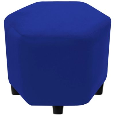 Puff 40x40x40 Azul