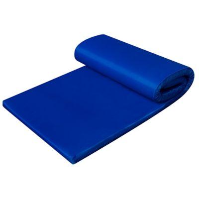 Colchoneta Camping Plegable Azul