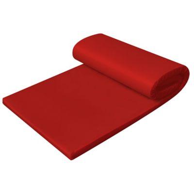 Colchoneta Camping Plegable Roja