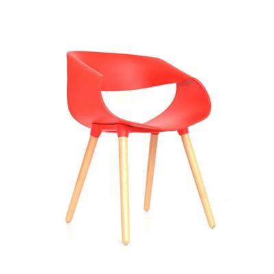 Silla Nordic 40x73x63 Rojo