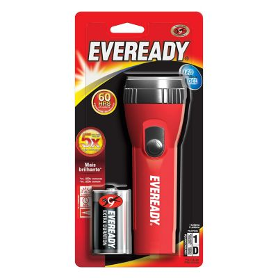 Linterna de Mano Big Red E-250 2D LED Pila Incluida