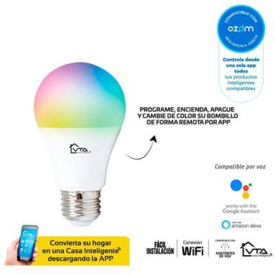 Bombillo Led Inteligente Wifi A60 9w RGB