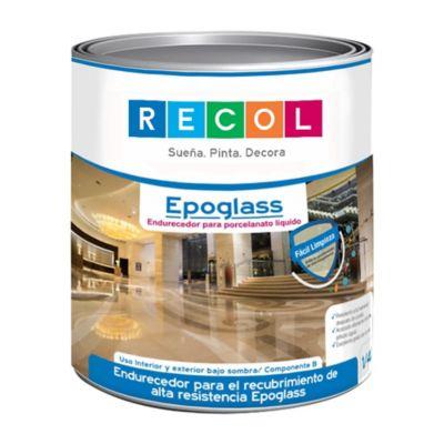 Resina Epóxica para Azulejos, metal y pisos 1/4 Galón