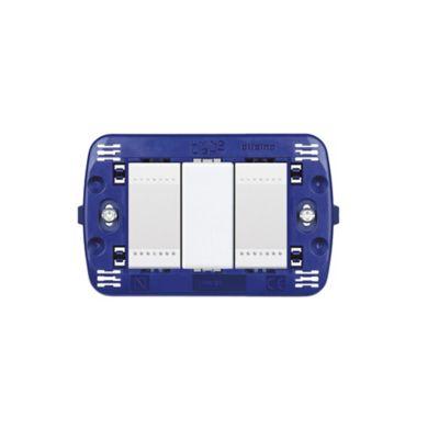 Interruptor doble luz piloto light