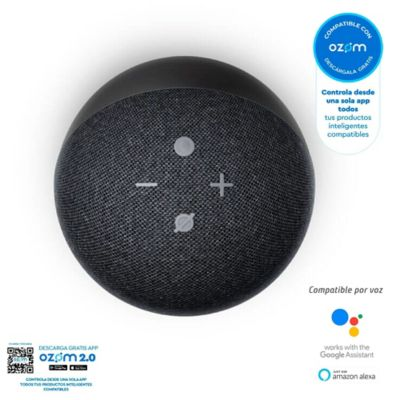Altavoz Inteligente Echo Dot de 4Ta Generación Negro