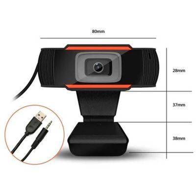 Cámara Web HD 720X1080Mpx Con Micrófono Integrado
