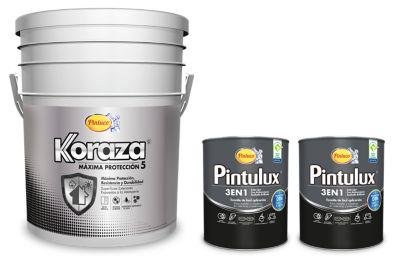 Pintura para Interior Máxima Protección Blanco+ 2 Cuatros Esmalte Pintulux Fácil Aplicación