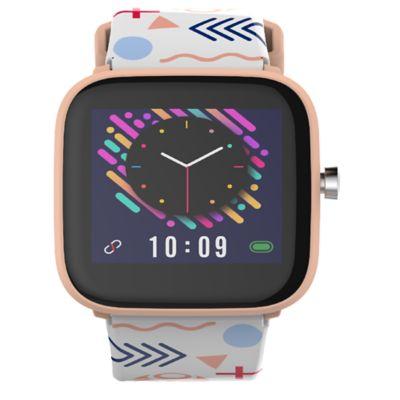 Reloj Inteligente MTWKDS1R Negro Pulso Rosa/Blanco