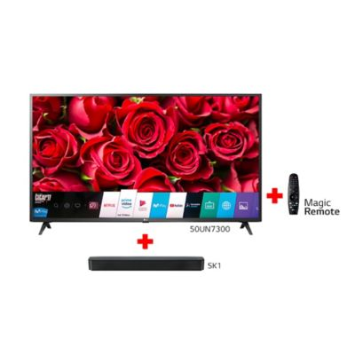 Combo Tv Lg 50 Smart 4k+Barra Son+Magic Control