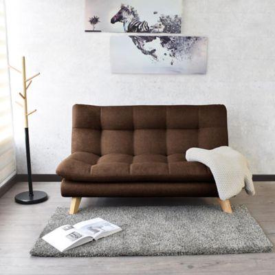 Sofá Toulouse 80x140x92 Tela Chocolate