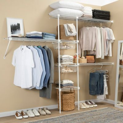 Súper Closet Rejilla Ancho Hasta 200x300x40 cm Blanco