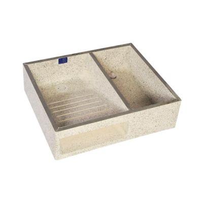 Lavadero 60 cm x 50 cm x 16 cm Granito
