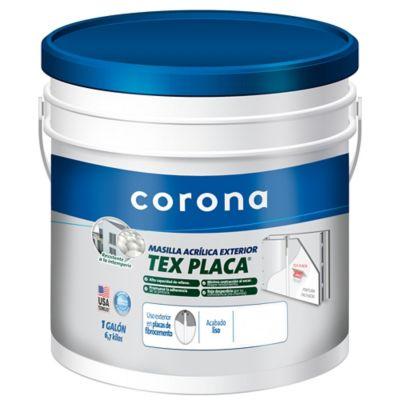 Masilla Texplaca 1Gl 6.8kg Uso Exterior