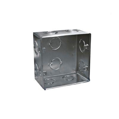 Caja 10x10 Cal20 Galvanizada