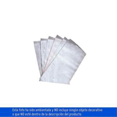 Empaque 42 x 80 cm blanco polipropileno