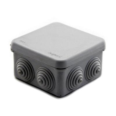 Caja cuadrada 7e presión plexo