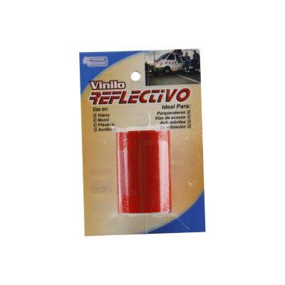 Película Vinilo Reflectiva Roja 5.0cmx1m